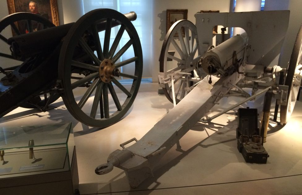 Franco Prussian War Artillery