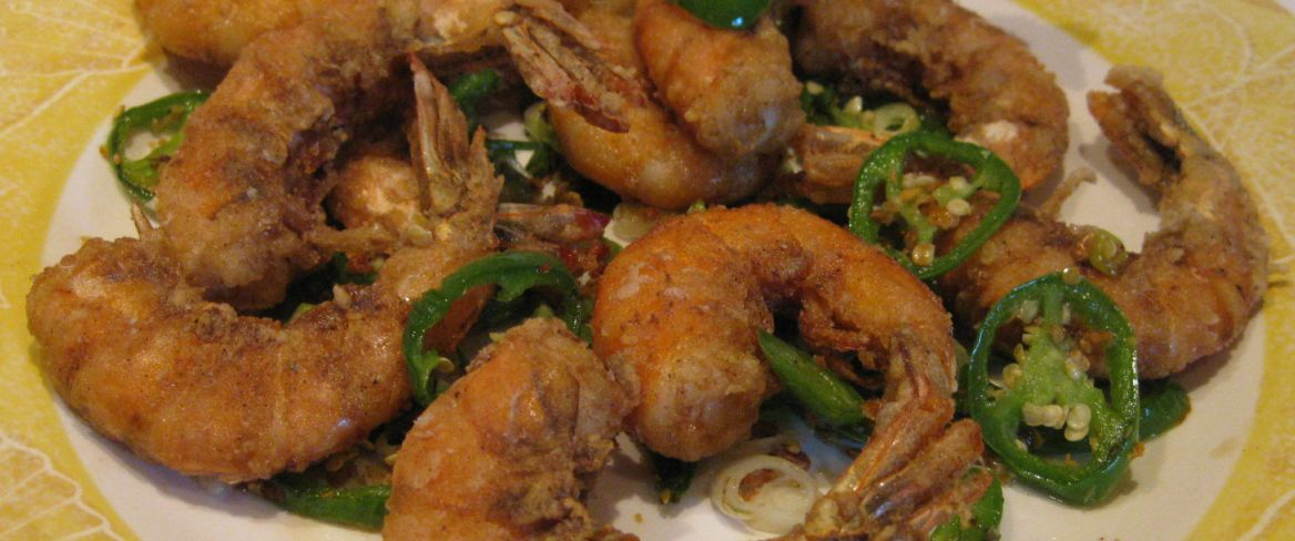 ... salt and pepper shrimp recipe yummly spicy salt and pepper shrimp