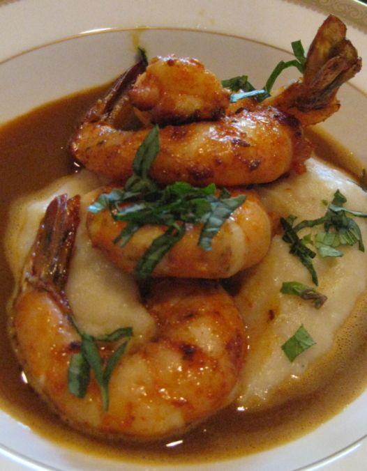 shrimp in nage