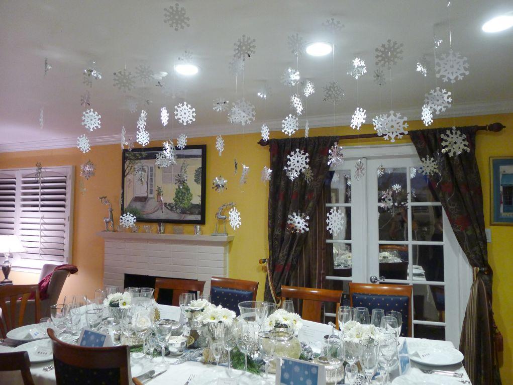 Winter Wonderland Dinner Party